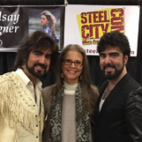 Chrisagis Brothers with Lindsey Wagner
